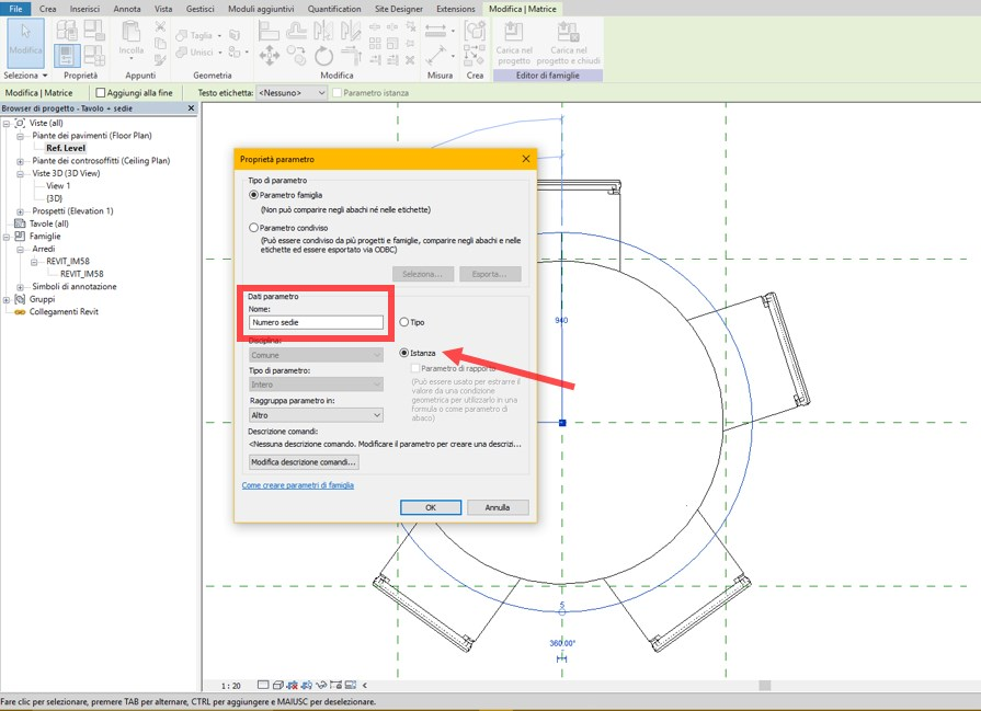 TUTORIAL 4: Revit family – introduction to the nested family