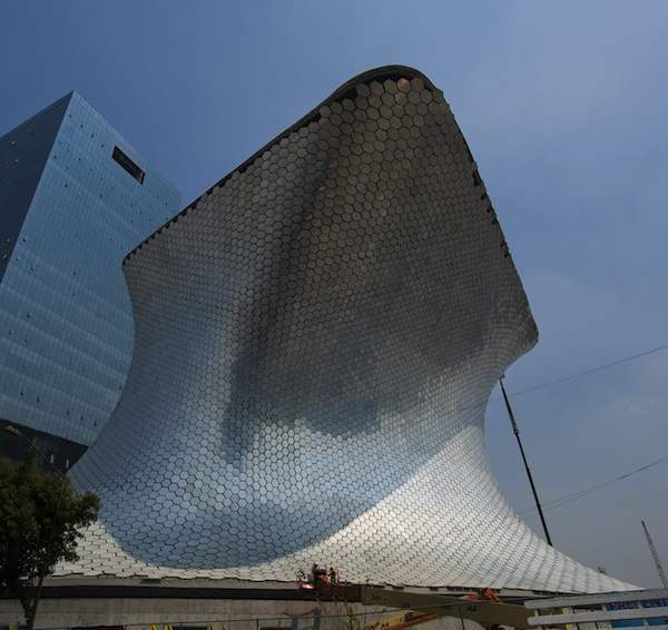 View of the Museo Soumaya --the second m