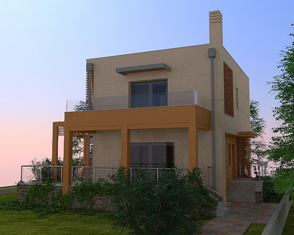 Small house near sea made by g n architects for Home architects near me