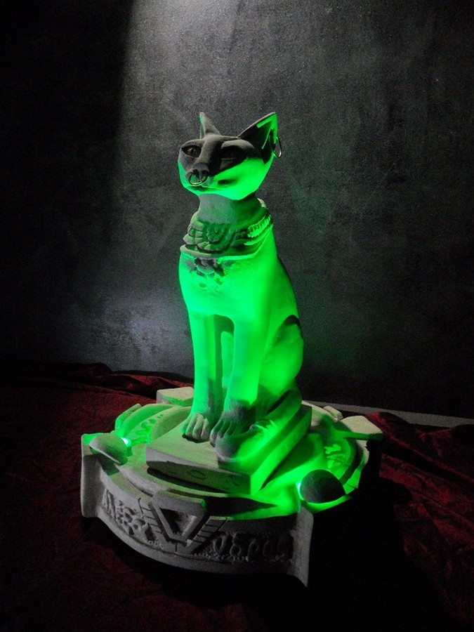 Bastet - Progetto Arte e Lighting Design