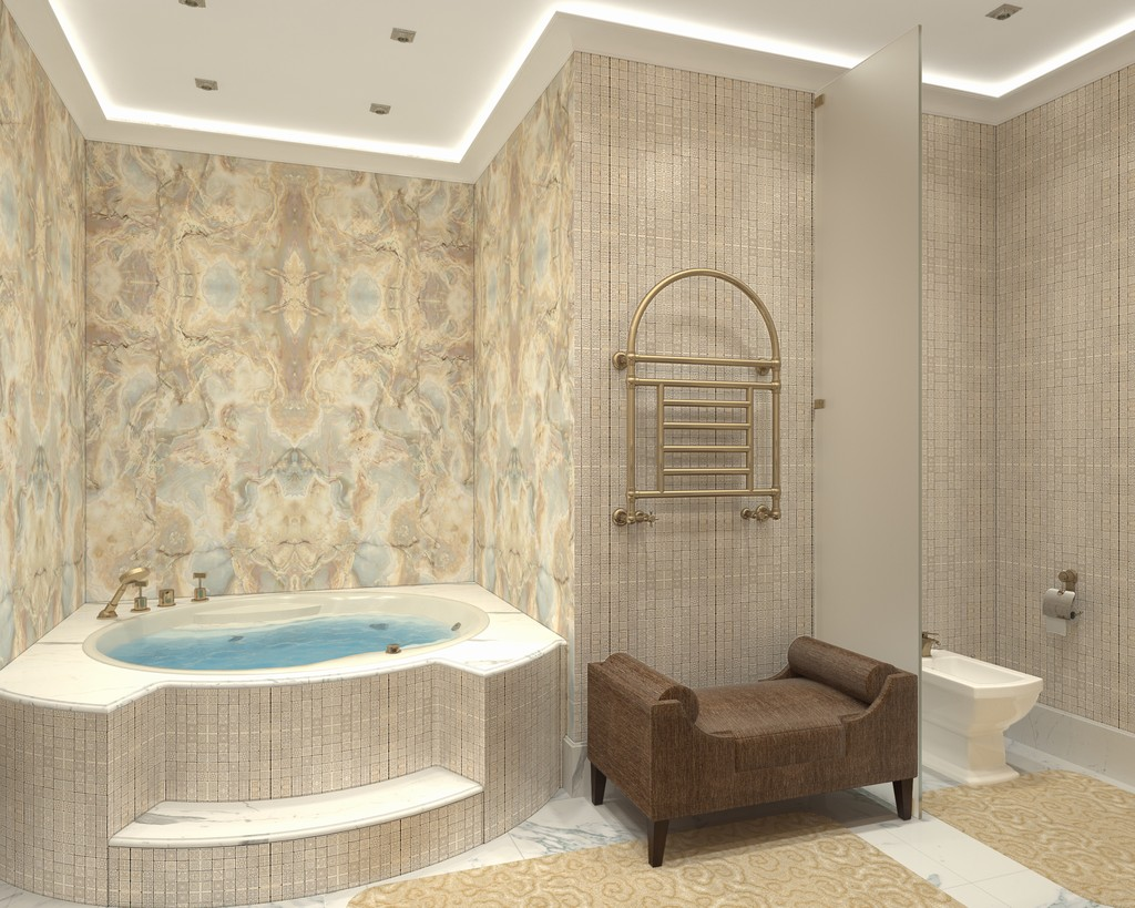 Darya girina interior design march 2015 -  Architecture Project Interior Design Of Presidential Suite Of The Bariatinsky Palace Contemporary Classical Vision Of
