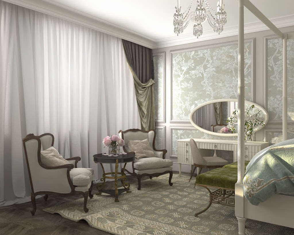 Interior design of lux apartments of the bariatinsky for Interior visions designs
