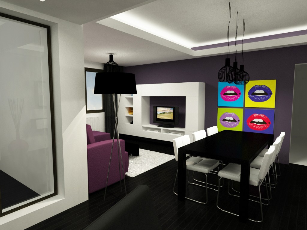 Funky living room design made by square 2 design Funky decorating ideas for living rooms