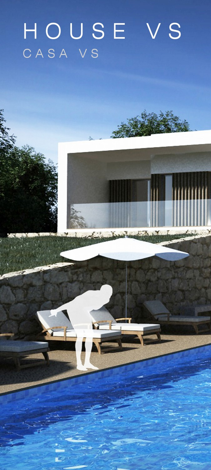 Designers, architects and furniture 3d model furnishings online on Syncronia. Architectur project house as, made by Paulo Lucas