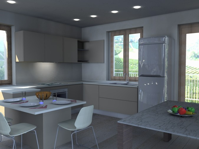 Stunning Progetto Cucina 3d Images - Design & Ideas 2017 - candp.us