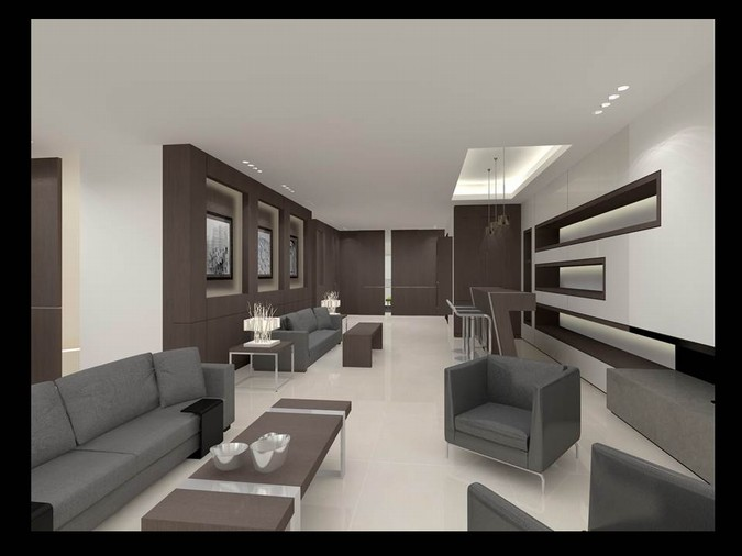 Designers, architects and furniture 3d model furnishings online on Syncronia. Architectur project private residence, made by IBRAHIM TORFEH INTERIORS