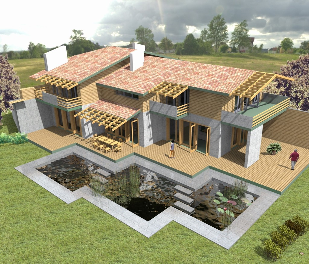 Country house for a big family syncronia for Big family house