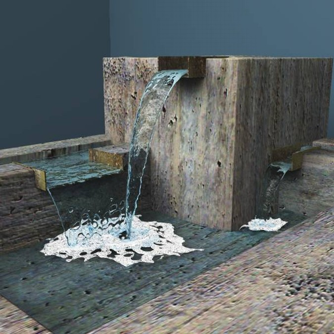 3D Models Of Modern Fountains
