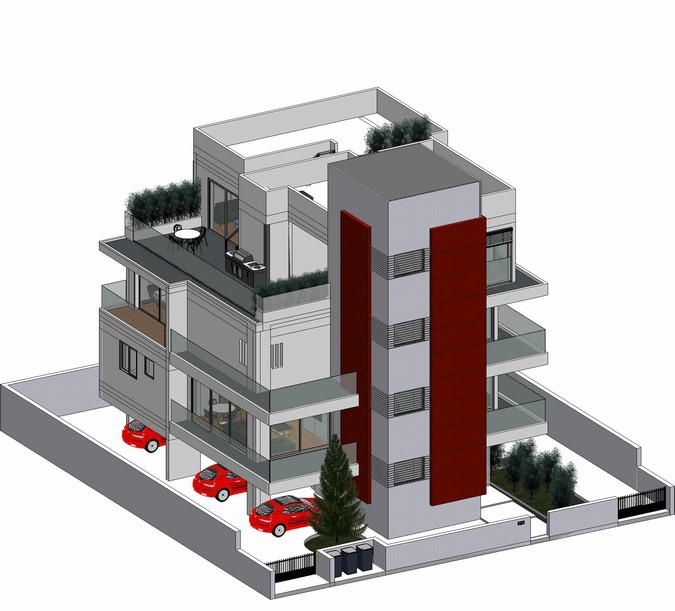 Designers, architects and furniture 3d model furnishings online on Syncronia. Architecture project house agia varvara nicosia cipro, made by michael
