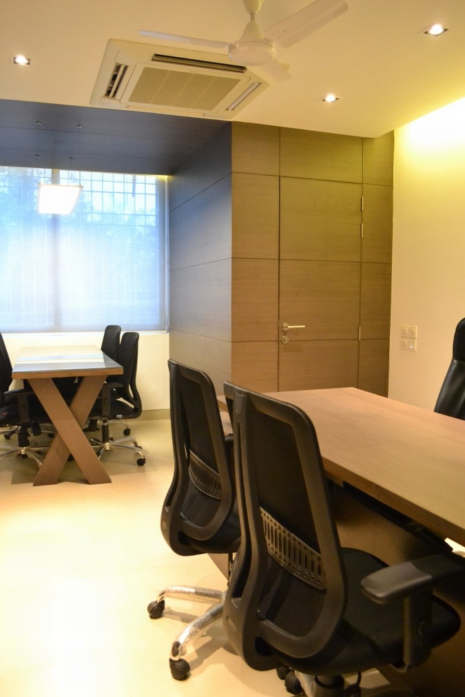 Office interiors new delhi syncronia for Office interior projects