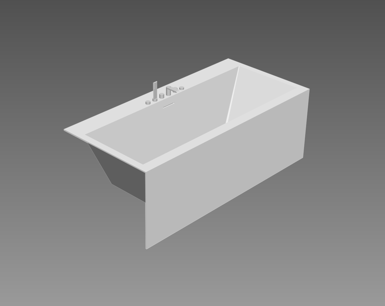 Paper bathtub Teuco-Download BIM Objects Bathtubs