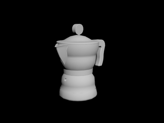 Download Moka Alessi, Espresso Coffee Maker AAM33
