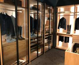 Avant walk-in closet BIM object 3D model