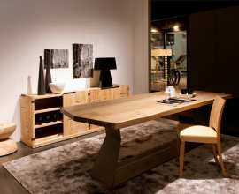 Riva 1920 Table Bedrock Plank A