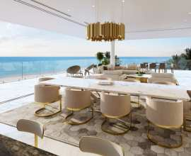 3D Interior Design Rendering for a Resort in Antigua