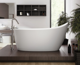 Aquatica Emmanuelle Solid Surface Freestanding Bathtub