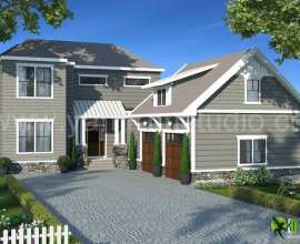 Architectural Exterior 3D Rendering