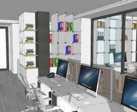 Interiors for Office, Noida