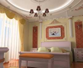 bedroom in Chisinau