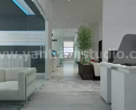 Unique Office Design and Modern Commercial Building Animation by Yantram Architectural Design Services Brussels