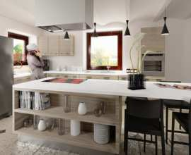 Interior Rendering - Kitchen vol.02