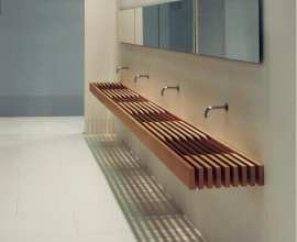 Washbasins Batrhroom system: Washbasin, WC and shower tray 3D Models