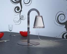 Table lamps Abelia by Terenzi S.r.l for Caoscreo 3D Models