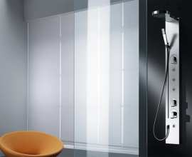 Equipped column P547 equipped shower panel 3D Models