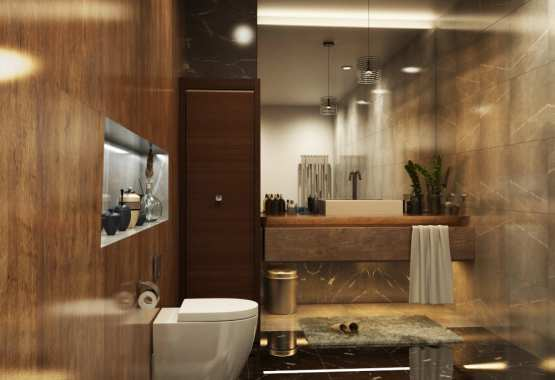 Architectural 3D Rendering Services Los Angeles for Stunning Bathroom