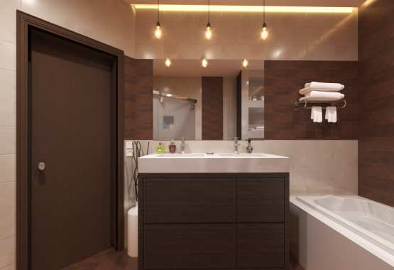 MODERN 3D BATHROOM RENDERING SERVICES  LOS ANGELES, CALIFORNIA