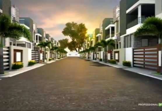 3D real estate walk through animation