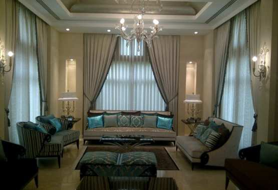 Home lounge in Dubai