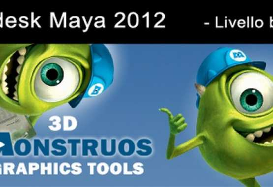 Maya 2012 livello base Character Creation and Special EFX