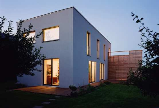 Passive house building in Gerasdorf