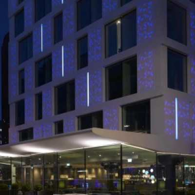 DuPont™ Corian® lights up the architectural face of the City of London