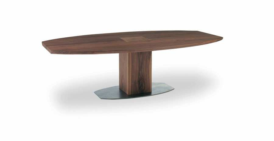 Riva 1920 Table Boss Executive Ovale