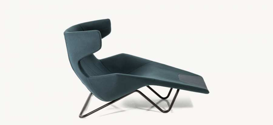 3D model chaise longue; Take a Line For a Walk