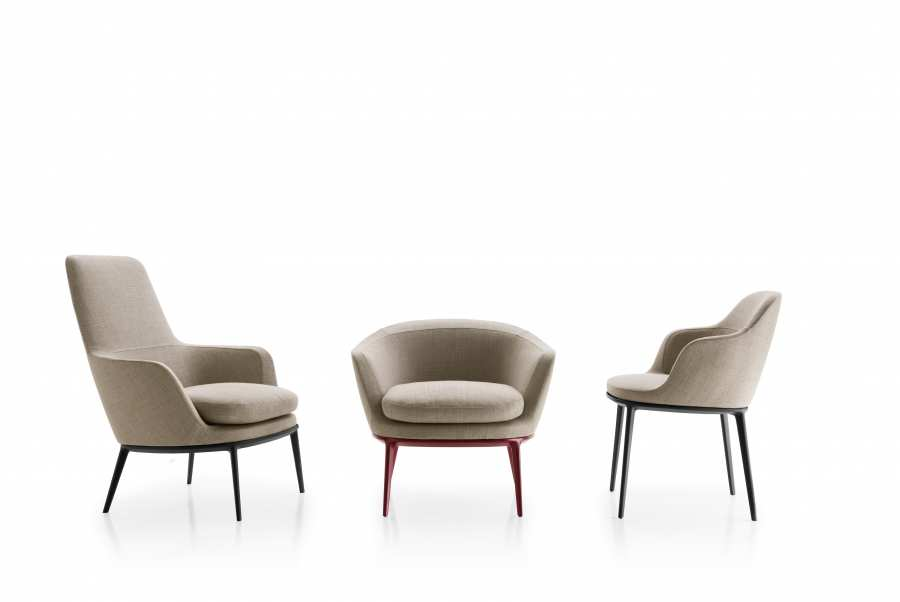 Caratos armchairs 3d models