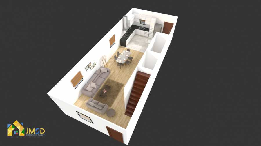 Architectural 3D Floor Plan Rendering Services
