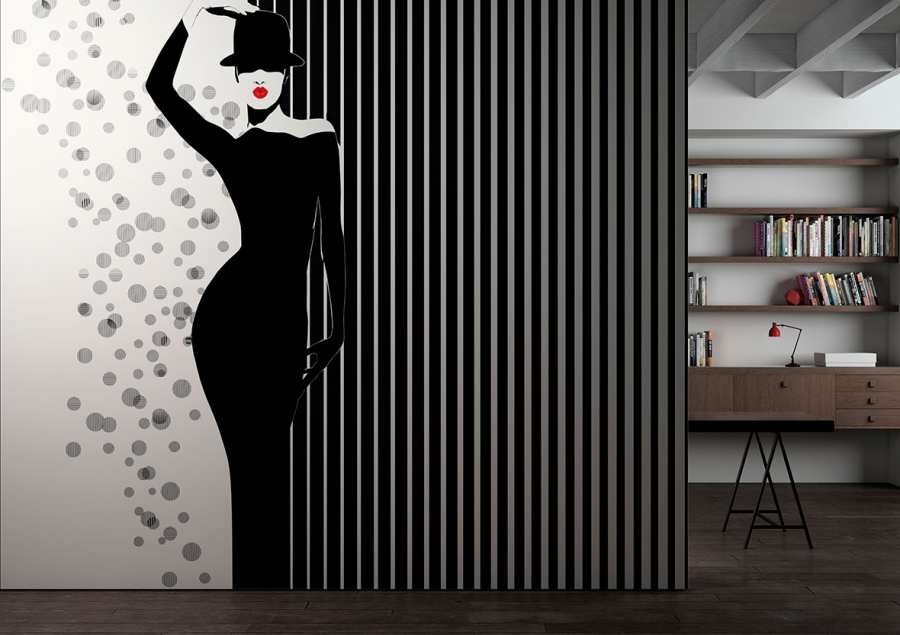 3d Textures and technical informations - Glamora-Black&White