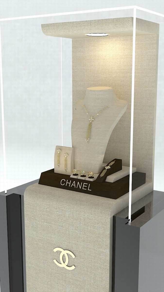 "Jewellery display booth "" Theodora """
