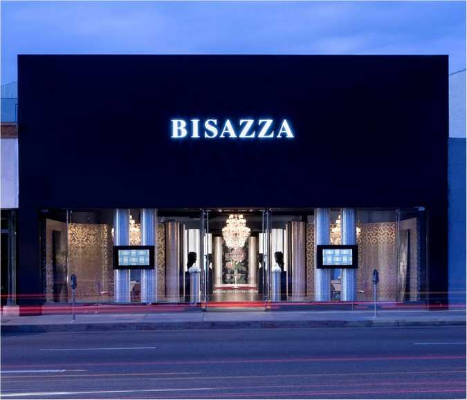 LOS ANGELES FLAG SHIP STORE, Bisazza, Stati Uniti