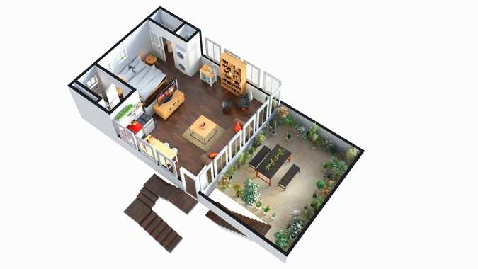 Architectural 3D Floor Plan Services