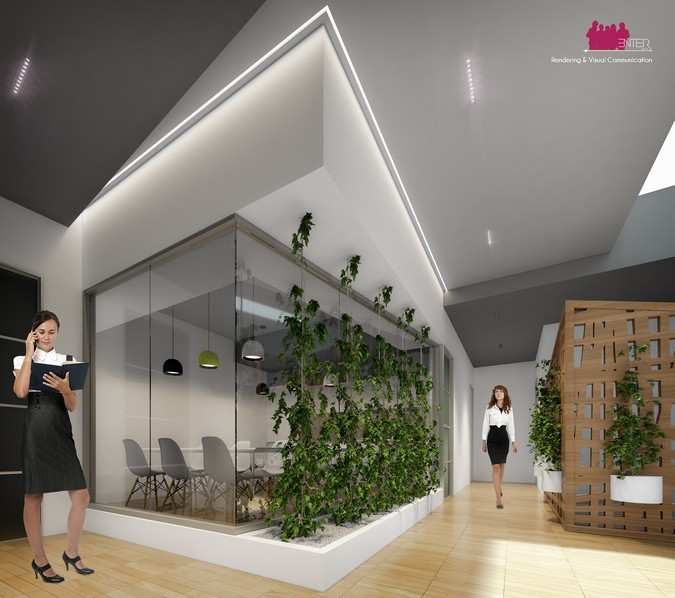 Interior Rendering - Office