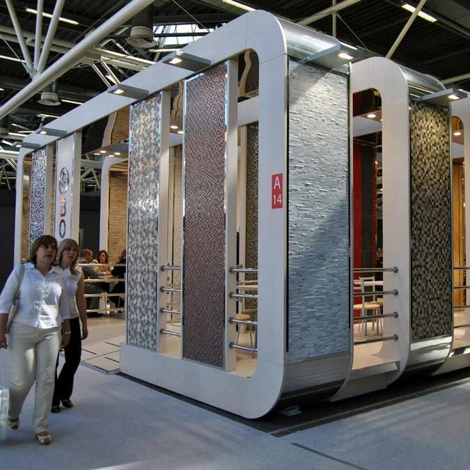 STAND BOXER CERSAIE 2011 PER ECODESIGN