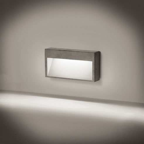Wall recessed lamps CONCRETE WALL 3D Models