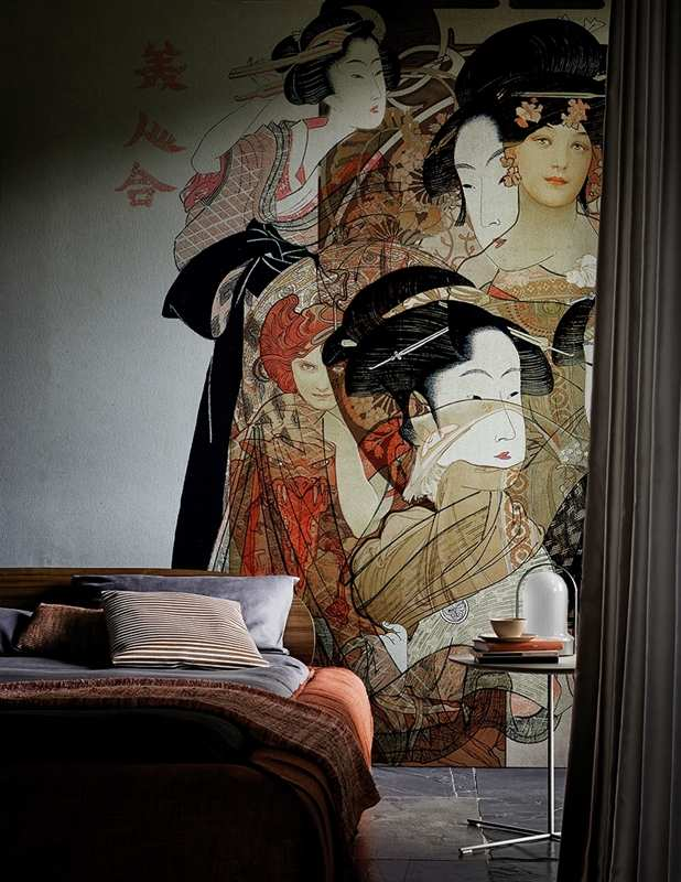 Interior coatings 2016 - NOUVEAU GEISHA 3D Models