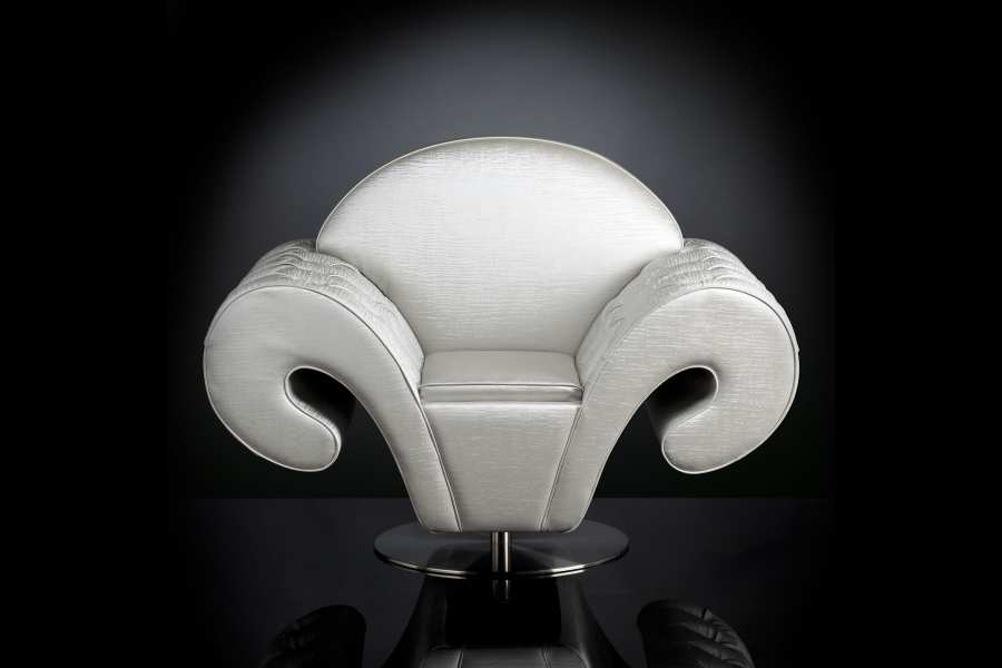 Armchairs SWIVEL ARMCHAIR SILHOUETTE 3D Models