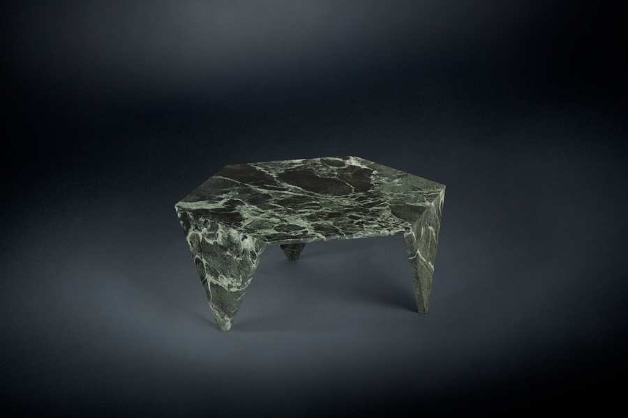 Low tables SMALL TABLE RUCHE MARBLE 3D Models