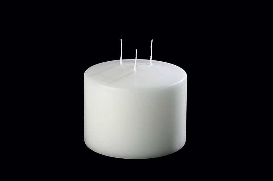 Decorative objects CANDLE 3 WICKS 3D Models